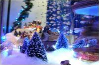 Vitrine de Noël pour ces Fêtes de fin d'année 2018 dans votre PRESSING du MEMORIAL